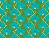 dekorative Verzierung von Blumenorchideen Stockbild