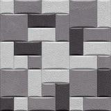 Dekorative Wand der ledernen Tapete - nahtlose Hintergrundbeschaffenheit stock abbildung