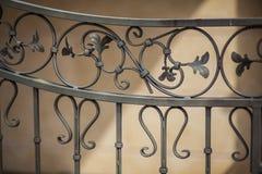 Dekorative Wand und belichtetes dekoratives Lizenzfreies Stockbild
