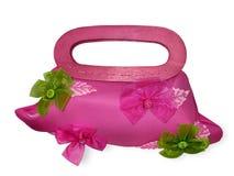Dekorative weibliche Handtasche Stockfoto