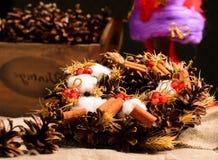 Dekorative Weihnachtsspielwaren Stockfotos