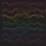 Dekorative Windrauchabdeckungsfliesengewebemusterhintergrundvektorillustrationsdesign Zusammenfassungstapete Stockfotografie