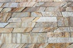 Dekorative Ziegelsteinbeschaffenheit des Travertins Lizenzfreie Stockbilder