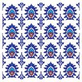 Dekorativer abstrakter Blumenhintergrund, orientalisches arabisches indisches Design, Muster Stockfoto