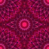 Dekorativer abstrakter nahtloser mit Blumenhintergrund der hellen Handzeichnung mit vielen Details für Design des Seidenhalstuche lizenzfreie abbildung