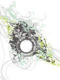 Dekorativer Blumenhintergrund Stockfotos