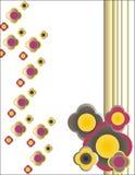 Dekorativer Blumenhintergrund Lizenzfreie Stockbilder