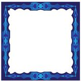 Dekorativer Design Vektorrahmen Stockbild