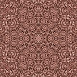 Dekorativer Druck des nahtlosen abstrakten Mosaiks des Musters kaleidoskopischen Lizenzfreies Stockbild