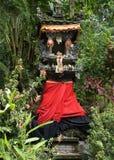 Dekorativer frommer hinduistischer Schrein Stockfotos