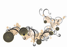 Dekorativer Hintergrund vektor abbildung