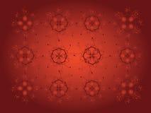 Dekorativer Hintergrund des Blumenmusters vektor abbildung