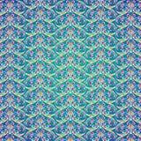 Dekorativer Hintergrund mit farbigen Elementen Stockbilder