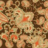 Dekorativer Hintergrund von Hand gezeichnete Henna Mehndi Abstract Lizenzfreie Stockfotos