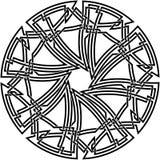Dekorativer keltischer Knoten Stockfotos