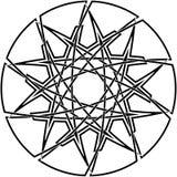 Dekorativer keltischer Knoten Stockbilder