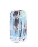 Dekorativer keramischer Vase Stockfoto