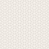Dekorativer nahtloser geometrischer Muster-Hintergrund Lizenzfreie Stockfotografie