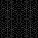 Dekorativer nahtloser geometrischer Muster-Hintergrund Lizenzfreie Stockfotos