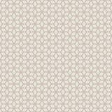 Dekorativer nahtloser geometrischer Muster-mit Blumenhintergrund Stockbilder