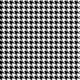 Dekorativer nahtloser geometrischer Muster-mit Blumenhintergrund Lizenzfreies Stockbild