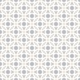 Dekorativer nahtloser geometrischer Vektor-Muster-Hintergrund Lizenzfreies Stockbild