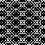 Dekorativer nahtloser geometrischer Vektor-Muster-Hintergrund Stockfoto