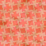 Dekorativer nahtloser Hintergrund des Malvenmosaiks Stockbild