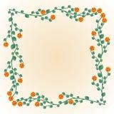 Dekorativer Rahmen Lizenzfreies Stockbild