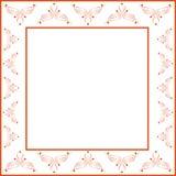 Dekorativer Rahmen Stockbild
