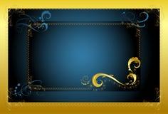 Dekorativer Rahmen für den Text Stockbilder