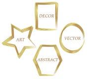 dekorativer Rahmen für Ihren Text Stockfotografie