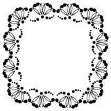 Dekorativer Rahmen mit Mustern Lizenzfreie Stockfotografie