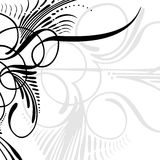 Dekorativer Rand Lizenzfreies Stockbild