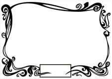 Dekorativer Rand stock abbildung