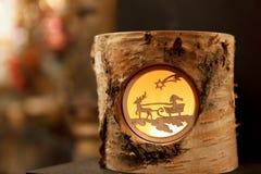 Dekorativer Ren-Stumpf Stockbild