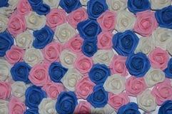 Dekorativer Rose-Hintergrund Stockbilder