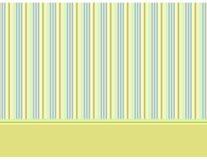 Dekorativer Schätzchenhintergrund mit Streifen 2 vektor abbildung