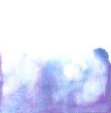 Dekorativer unterer Hintergrund des Aquarells Stockbild