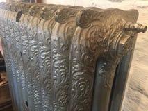 Dekorativer victorian Heizkörper für die Heizung stockfotografie