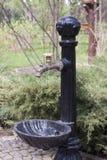 Dekorativer Wasserhahn Stockfoto