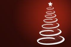 Dekorativer Weihnachtsbaum Lizenzfreie Abbildung