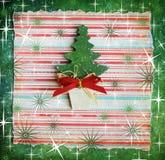 Dekorativer Weihnachtsbaum stockfotografie