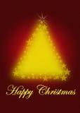 Dekorativer Weihnachtsbaum Lizenzfreie Stockfotografie