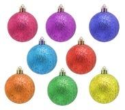 Dekorativer Weihnachtsflitter Lizenzfreie Stockbilder