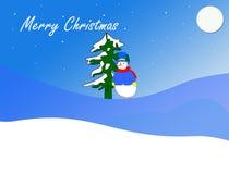 Dekorativer Weihnachtshintergrund Stockbilder