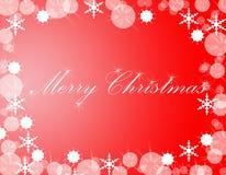 Dekorativer Weihnachtshintergrund stockfotos