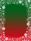 Dekorativer Weihnachtshintergrund Lizenzfreie Stockfotos