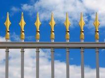 Dekorativer Zaun Stockbild