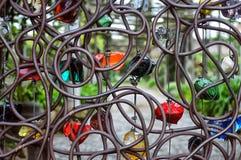 Dekorativer Zaun Stockbilder